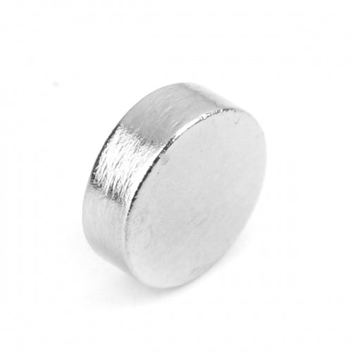 10x Magnets Round Silver Plated Neodymium  Disc Magnets 8x3mm (5/16