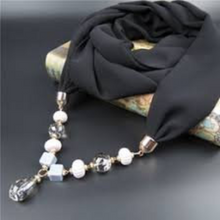 Load image into Gallery viewer, 20 Golden Scarf Ring Caps Ends For Decorate At End of Scarves S01808G