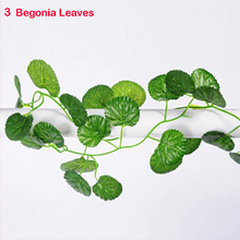 Load image into Gallery viewer, Artificial Ivy Vine Green Tropical Grape Plant Leaves Home Wedding Birthday Party Celebration