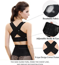 Load image into Gallery viewer, Women Girdle Shapewear Chest Posture Corrector Support Belt Body Shaper H01