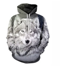 Load image into Gallery viewer, New Space Galaxy Wolf Hoodie Hoodies Men Women Fashion Pullovers W098
