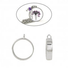 Load image into Gallery viewer, 2x Open Back Bezel Pendants For Resin Round A0080699