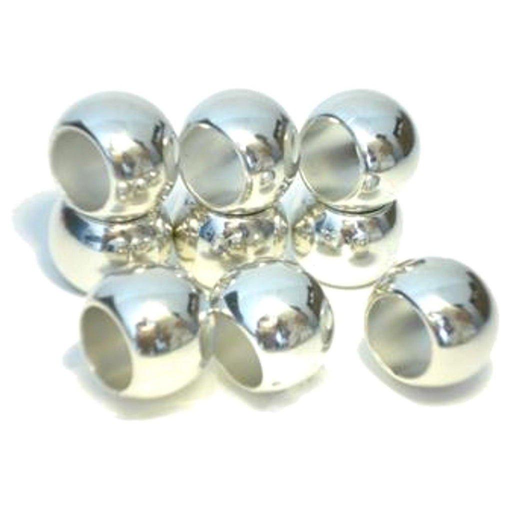 50 x scarf rings Silver Plated Round Rings Plain Acrylic Scarf Jewelry Slides S626