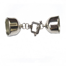 Load image into Gallery viewer, Scarf End Caps With Elegant Clasps Connectors Sold 6 Pairs, Not Include Scarf S0735