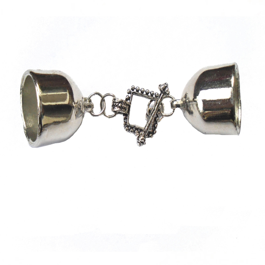 Scarf End Caps With Elegant Clasps Connectors Sold 6 Pairs, Not Include Scarf S0735