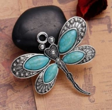 Load image into Gallery viewer, 3x Scarf Necklace Jewelry Pendants Flower Butterfly Owl Elephant etc