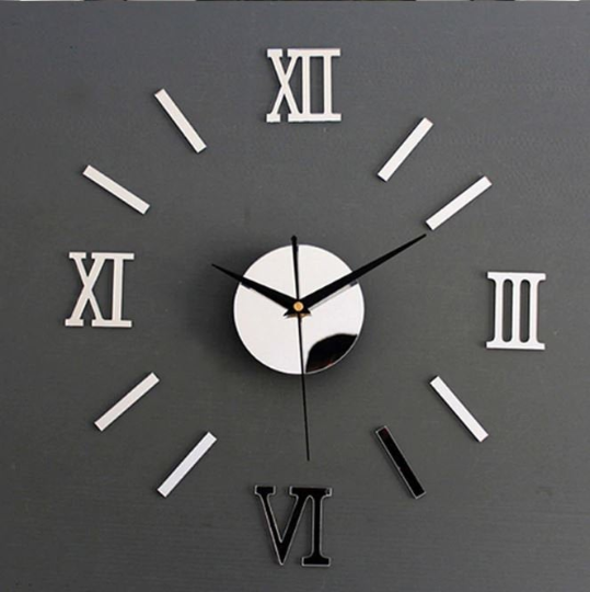 Big Wall Clock 3D Modern Wall Clock Large Wall Clock Home Decor Unique Wall Clocks Wall Decor