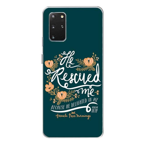He Rescued Me Case - Walk Faith