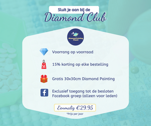 Diamond Club Lidmaatschap - Diamond Painting Planet