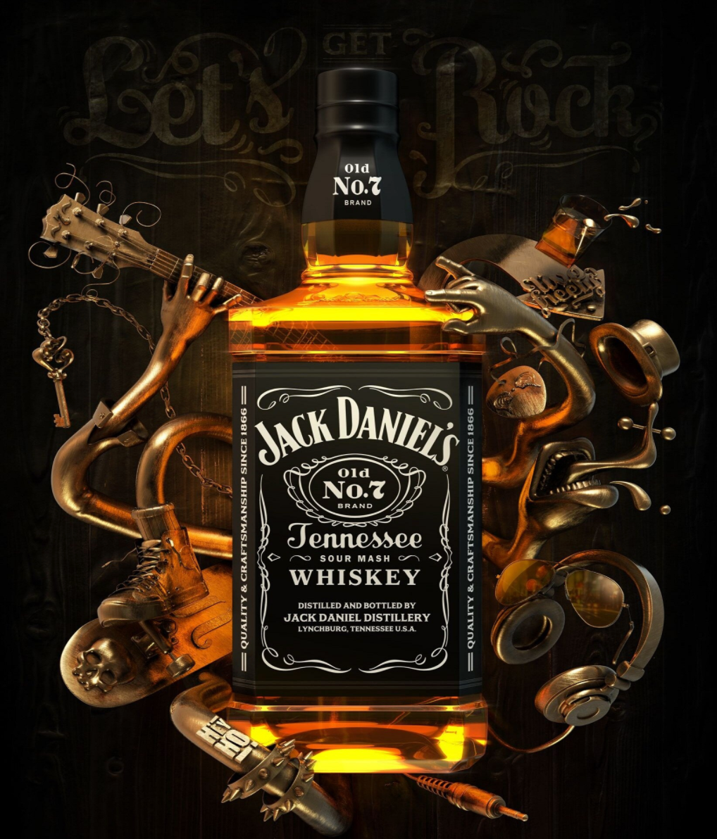 Jack Daniels - Diamond Painting Planet