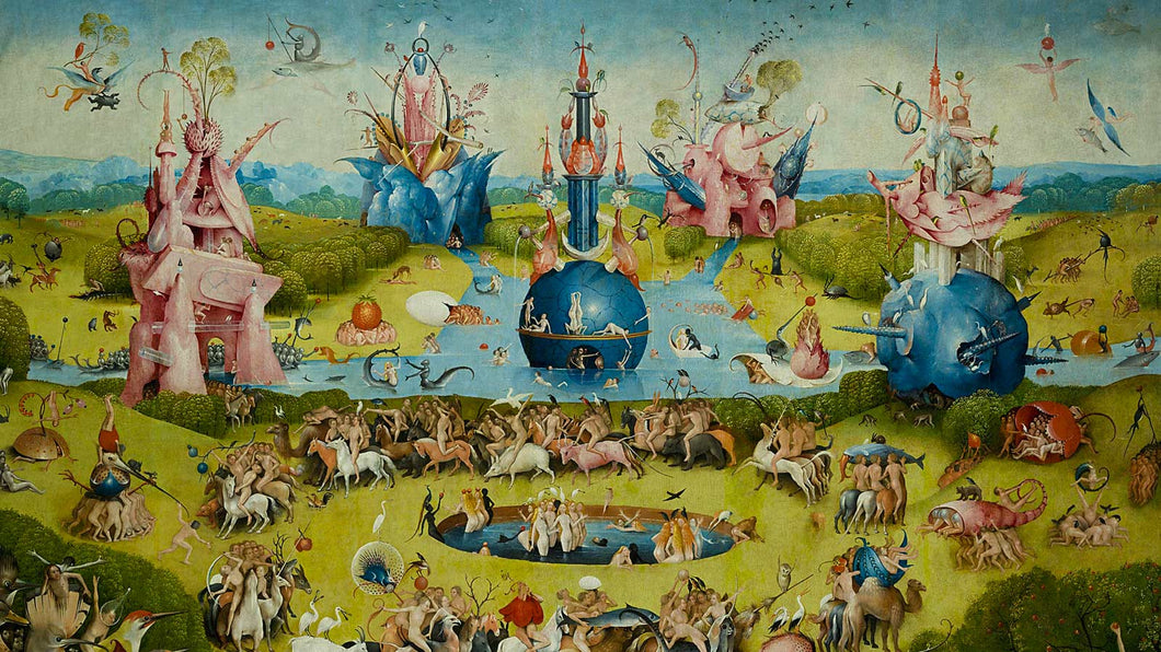 Bosch - Tuin der lusten - Diamond Painting Planet