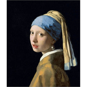 Johannes Vermeer - Meisje met de parel - Diamond Painting Planet