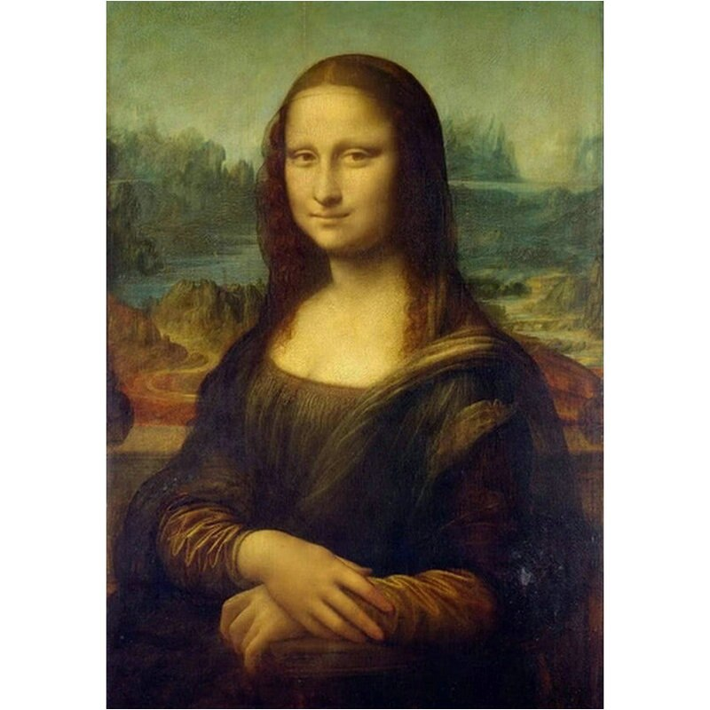 da Vinci - Mona Lisa - Diamond Painting Planet