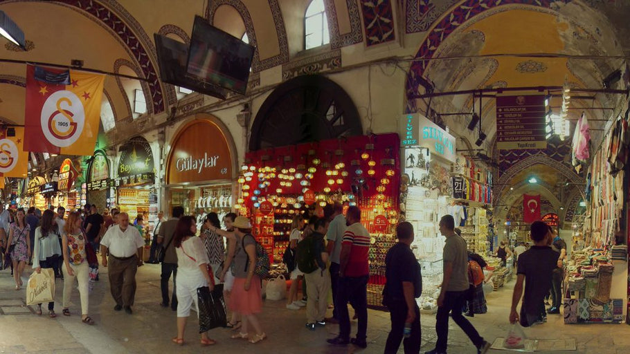 Istanbul's Grand Bazaar 10th most popular tourist attraction