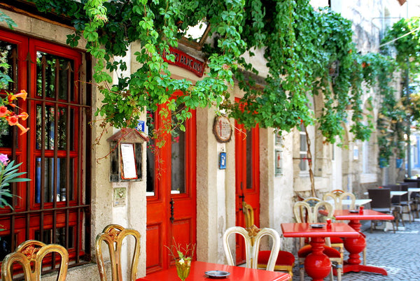 Colorful streets of Alacati