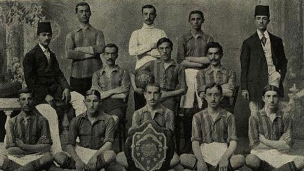 Fenerbahce Soccer players