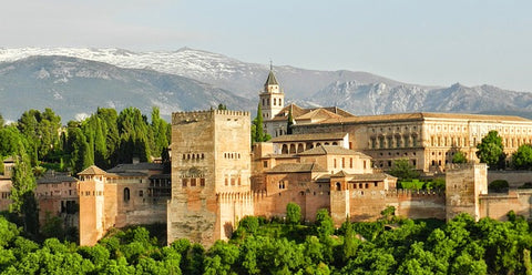 Alhambra in Spain was the home to Muslims and Jews in middle-ages