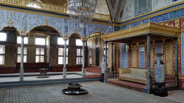The imperial hall in the Topkapi Palace