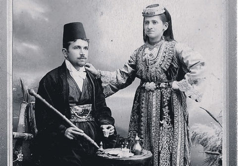 Ottoman Jewish couple in Thessaloniki