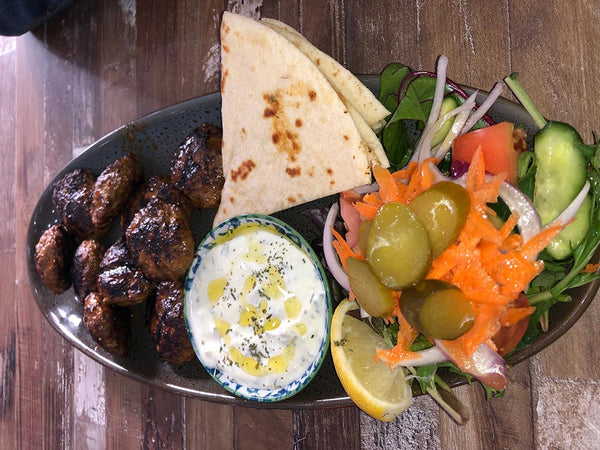 Kofte plate from Grill republic