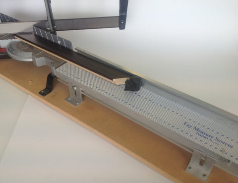 Trimmer Guillotine Measuring System