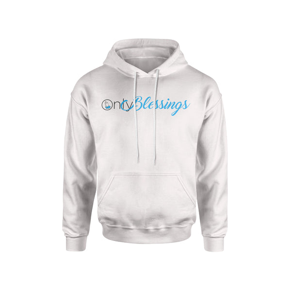 ONLY BLESSINGS HOODIE - WHITE