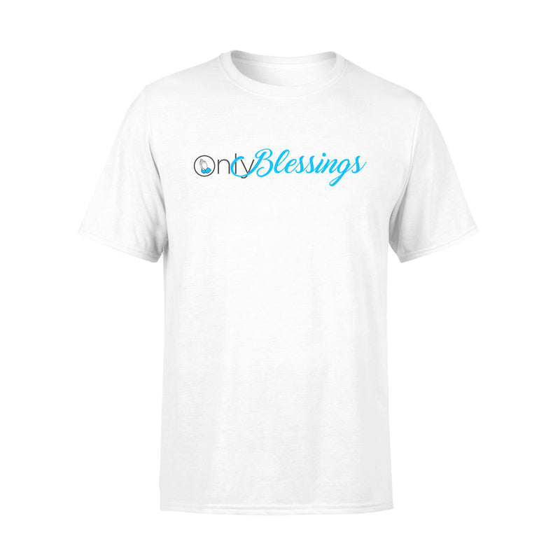 ONLY BLESSINGS TSHIRT - WHITE