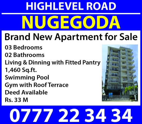 Luxury Apartments for Sale in Nugegoda- https://nextad.online/ next ad online Sri Lanka's Number One Website for Buy Sell Rent Electronics, Cars, Fashion, Property, Jobs & More