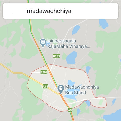 Prime land for sale in medawachchiya