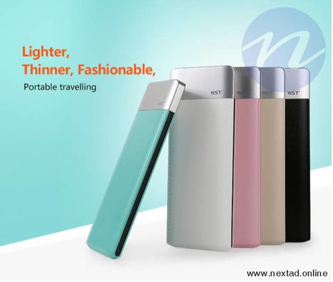 WST 6000 mAh Portable Power Bank- https://nextad.online/ next ad online Sri Lanka's Number One Website for Buy Sell Rent Electronics, Cars, Fashion, Property, Jobs & More