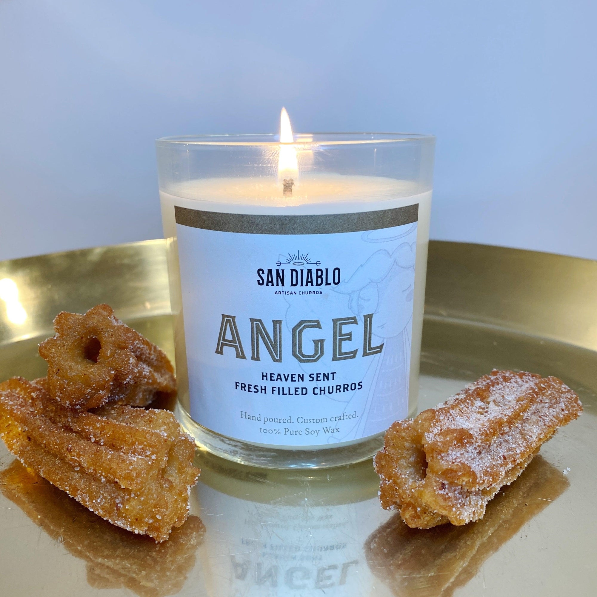 Angel Signature Churro-Scented Candle