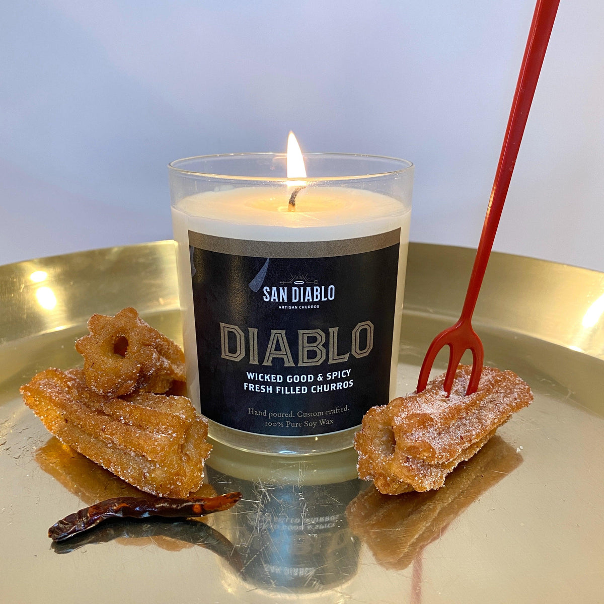 Diablo Signature Churro-Scented Candle