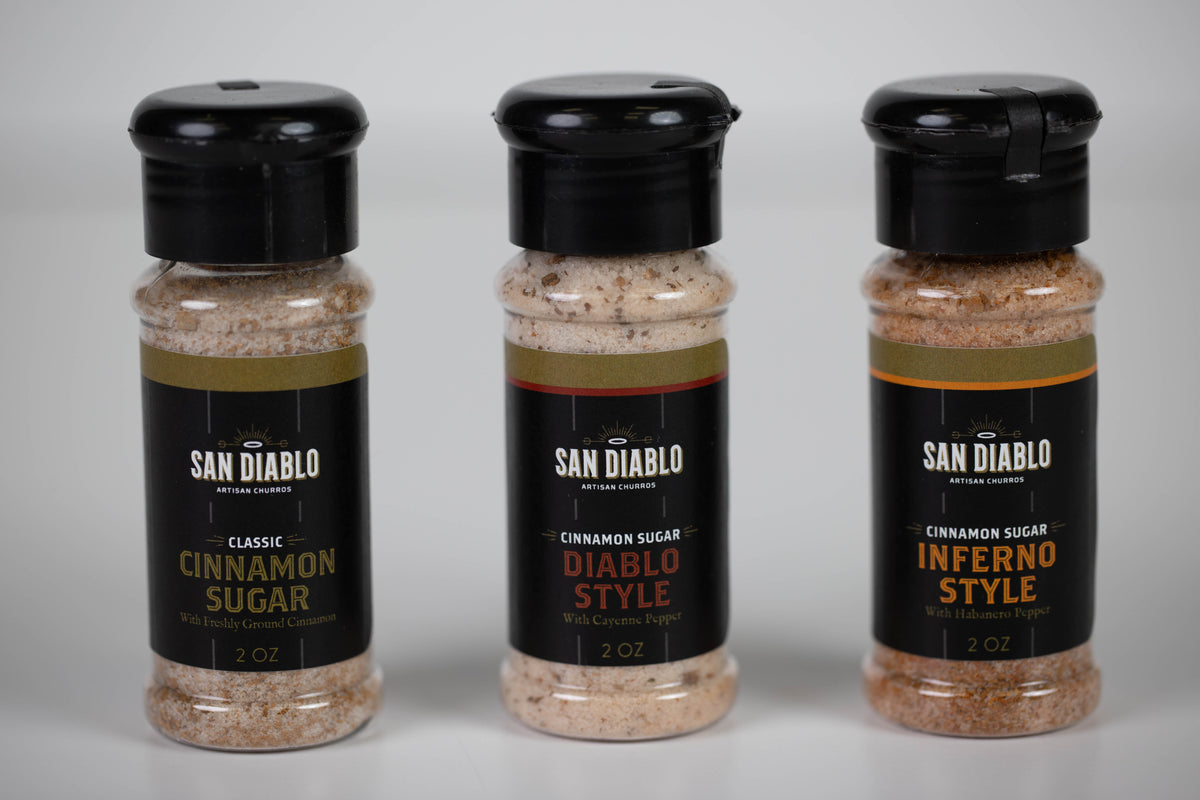 Signature Cinnamon Sugar Trio — Sweet & Spicy