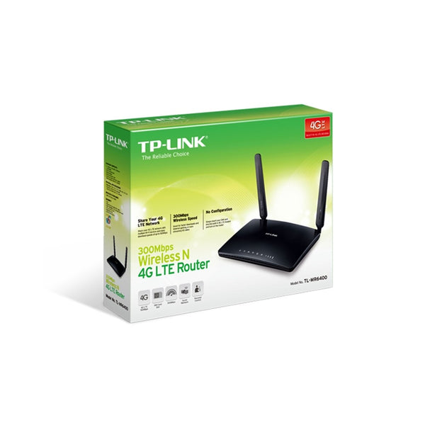 TP-Link Archer TL-MR6400 300Mbps Wireless N 4G LTE Router