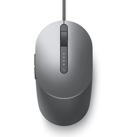 Dell Laser Wired Mouse MS3220 - Titan Gray