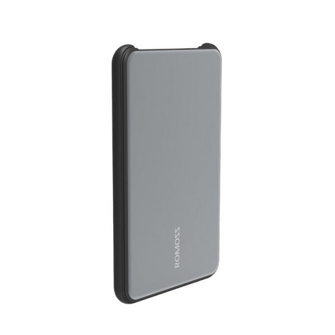 ROMOSS MT PRO 10000mAh Li-polymer Dual Port QC3.0 Power Bank – Grey
