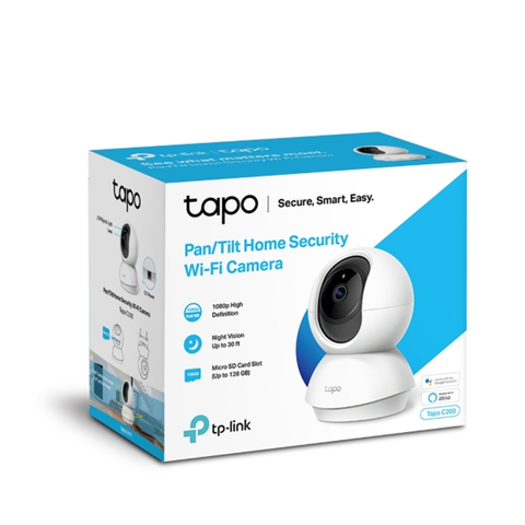 TP-Link TAPO C200 Security WiFi Camera CCTV – 1080P / Support MircoSD
