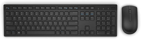 Dell Wireless Keyboard and Mouse (English) KM636 Black - S&P - with DUP
