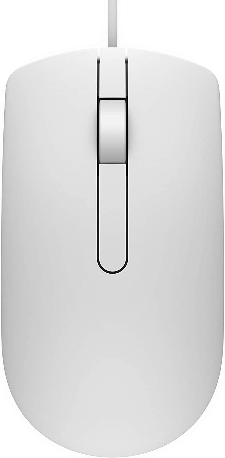 Dell Optical Mouse - MS116 - White