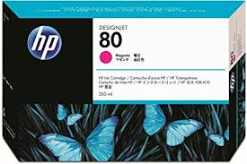 HP No 80 Magenta Ink Cartridge 350ml