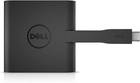Dell DA200 Adapter - USB-C to HDMI/VGA/Ethernet/USB 3.0