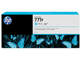 HP 771B 775ml Light Cyan Ink Cartridge