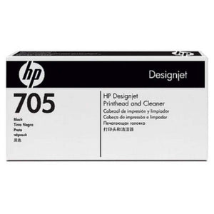 HP Designjet 705 Blk Printhead & Cleaner