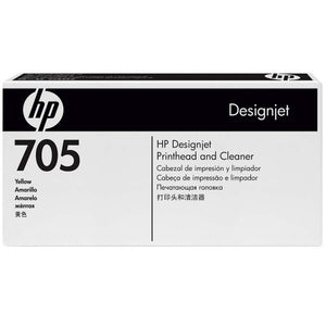 HP Designjet 705 Yellow Prnthd & Cleaner