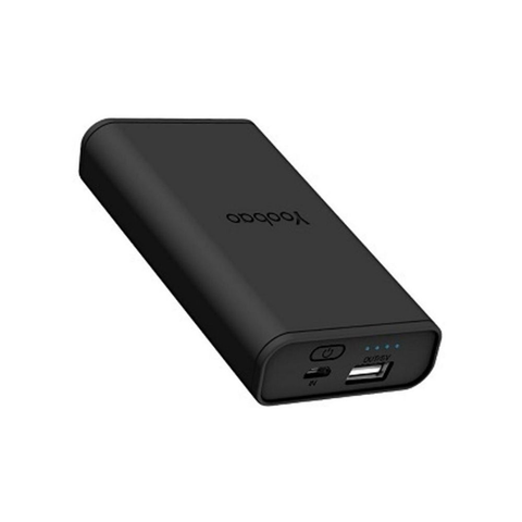 Yoobao F1 Power Bank 10000mAh | Black | One Port | Output 5v-2.4A