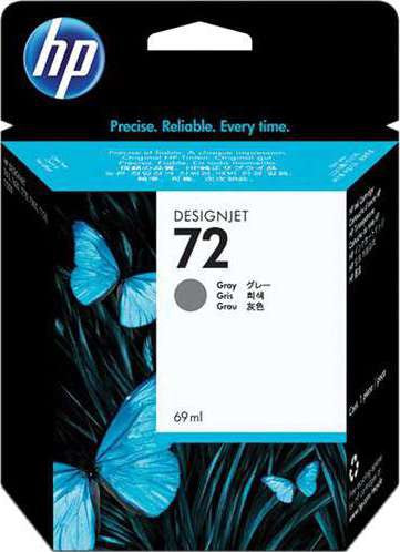 HP 72 69ml Gray Ink Cartridge