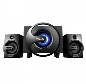 Sonic Gear Titan 5 BTMI 40Watts Bluetooth 2.1 Multimedia Speaker with LED