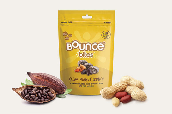 New flavour! Bites - Cacao Peanut Crunch 120g