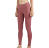 MET· AIR | Breathable Lycra Yoga Leggings with Side Pockets for Women (Mountbatten Pink)