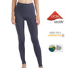 MET· SHAPE | Buttery-soft High Waist Tummy Control Yoga Leggings for Women (Quartz Grey)